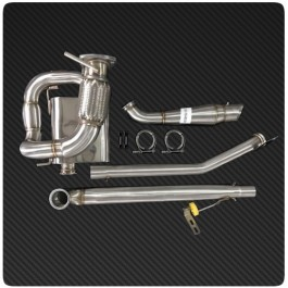1320 Performance Rear Side Exit Exhaust System for the Polaris Slingshot