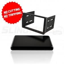 Double Din Stereo Dash Kit for the Polaris Slingshot