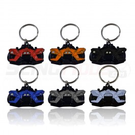 Metal Diecast Enamel Painted Keychain for the Polaris Slingshot