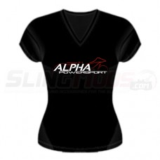 Alpha Powersport Official V-Neck Women's T-Shirt