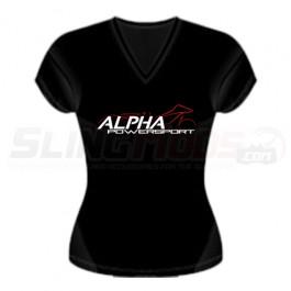 Alpha Powersport Official V-Neck Women's T-Shirt