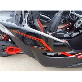 Slingfx Precut Vinyl Side Decal Kit #1 for the Polaris Slingshot (Pair)
