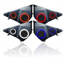 Speaker Accent Rings for the Polaris Slingshot (Set of 4) (2015-16)