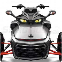 AMR Racing Headlight Eye Graphics Kit for the Can-Am Spyder F3 (Pair)
