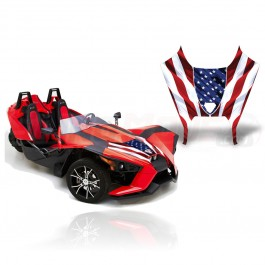 AMR Racing Hood Graphics Kit for the Polaris Slingshot