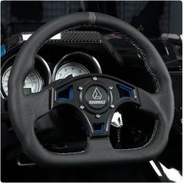 Assault Industries Ballistic D-Shape Steering Wheels for the Polaris Slingshot (Ver 2.0) (2015-19)