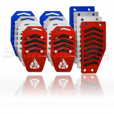 Assault Industries Fitted Pedal Covers for the Polaris Slingshot (Set of 3)
