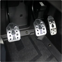 Assault Industries Fitted R-Spec Pedal Covers for the Polaris Slingshot (Set of 3) (2017-18)