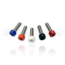 ATP Colored Aftermarket Steering Wheel Bolt Kit for the Polaris Slingshot (Set of 6)