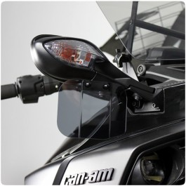 Baker Adjustable Hand Wings / Air Deflectors for the Can-Am Spyder F3 / F3S (Set of 2)