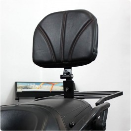 Baker Adjustable Padded Passenger Backrest for the Can-Am Spyder F3 / F3S