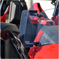 Baker Clamp-On Adjustable Windshield Air Wings for the Polaris Slingshot (Set of 2)