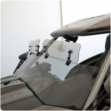 Baker Clamp-On Adjustable Top Mount Windshield Air Wings for the Polaris Slingshot (Set of 2)