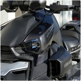 Carbon Fiber Upper Fairing Replacement Panels for the Can-Am Ryker (Set of 2)