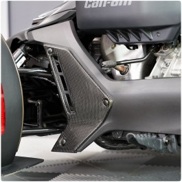 Carbon Fiber Rocker Panel Vent Accent Kit for the Can-Am Ryker (Set of 2)