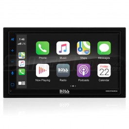 """Boss Audio 6.75"""" Touchscreen Bluetooth Audio Receiver with Apple CarPlay & Android Auto for the Polaris Slingshot"""
