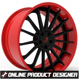 "COR 20"" / 22"" Tempest Style Custom Wheel Builder for the Polaris Slingshot (Set of 3)"