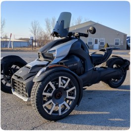 CalSci Shorty & Touring Windshields for the Can-Am Ryker (Discontinued)