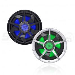 "Clarion CM Series 10"" RGB LED Marine Subwoofer w/ Carbon Fiber Spokes"