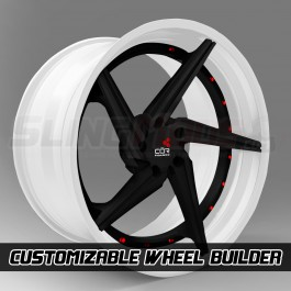 "COR 20"" / 22"" Katana Series Custom Wheel Builder for the Polaris Slingshot (Set of 3)"