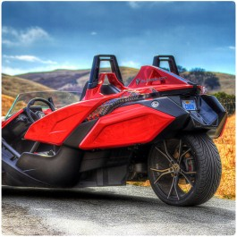 Corbin Fleetliner Saddlebags for the Polaris Slingshot