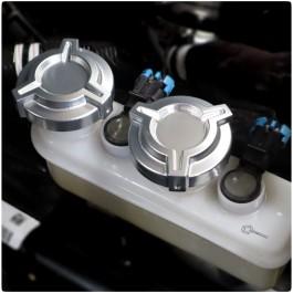 DDMWorks Brake Reservoir Cap Covers for the Polaris Slingshot (Set of 2)