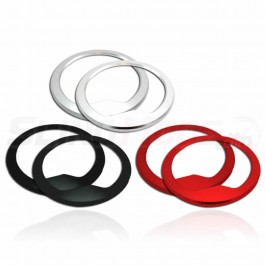 DDMWorks Aluminum Gauge Bezels for the Polaris Slingshot (Set of 2) (2015-19)