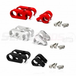 DDMWorks 4-Piece Billet Aluminum Hose Clamp Set for the Polaris Slingshot
