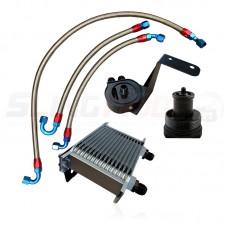 DDMWorks Oil Cooler / Filter Relocaton Kit for the Polaris Slingshot