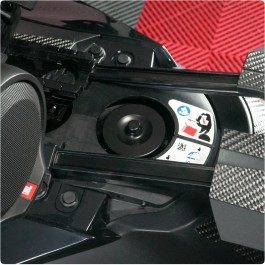 Billet Aluminum Vented Gas Cap Dust Cover for the Can-Am Ryker