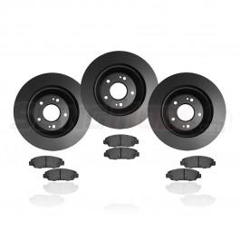 EBC Standard Rotor & Brake Pad Kit for the Polaris Slingshot