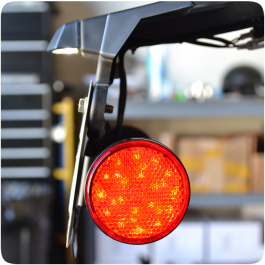 Electrical Connection License Plate LED Reflectors for the Polaris Slingshot (Pair) (2015-19)