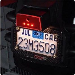 Electrical Connection License Plate LED Reflector Kit for the Can-Am Spyder RS / GS / F3 / ST