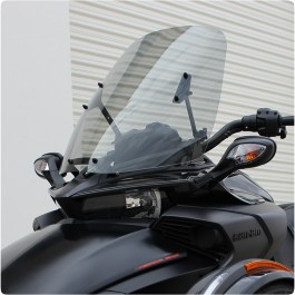 F4 Customs Tinted / Non Tinted Adjustable Windshield for the Can-Am Spyder F3 / F3S