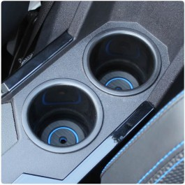 Foamskinz Peel & Stick Cup Holder Inserts for the Polaris Slingshot (Pair)
