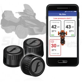 Fobo Electronic Tire Pressure Monitoring System for the Can-Am Spyder (Set of 3) (Ver 2.0)