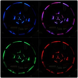 GloRyder Remote Control Wheel Lights for the Polaris Slingshot (Set of 3)