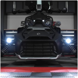 "Hypnotic Concepts Adjustable Dual 2"" Auxiliary LED Driving / Fog Light Kit for the Can-Am Ryker"