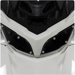 LampGard Clear Acrylic Headlight Protectors for the Can-Am Spyder RT (Pair) (2010-19)