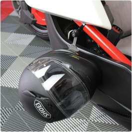 Lidlox Driver & Passenger Side Helmet Lock System for the Polaris Slingshot (Twin Pack)