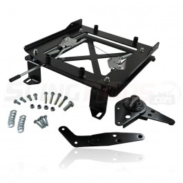Madigan MotorSports Passenger Side Sliding Seat Bracket for the Polaris Slingshot