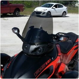 MadStad Adjustable Windshield for the Can-Am Spyder RS / RS-S