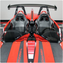 Madstad Single Adjustable Windshield for the Polaris Slingshot (2015-19)