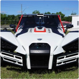 MadStad Ultimate LED Front Bumper and Grille for the Polaris Slingshot