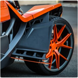 Metricks 2-Piece Font Fender Aero Splitter Kit for the Polaris Slingshot (2015-16)