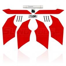 Metricks 6-Piece Aero Splitter Kit for the Polaris Slingshot