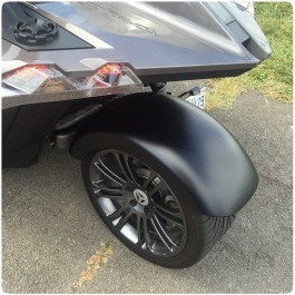 Metricks Mini Sweep Rear Fender Kit for the Polaris Slingshot