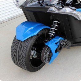 "Metricks ""Bolt-On"" SLR Series Rear Hugger Fender for the Polaris Slingshot"