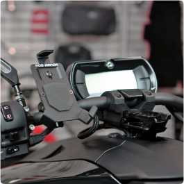 Mob Armor Handlebar Cell Phone Mount / Holder for the Can-Am Ryker