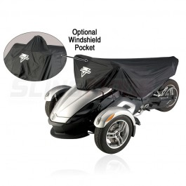 Nelson-Rigg Waterproof Half Cover for the Can-Am Spyder RS / ST / F3 (Version 2)